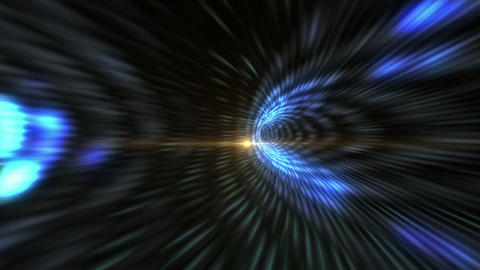 Wormhole through time and space, flashy high tech style. Travel through this Animation