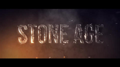 Stone Age After Effects Template