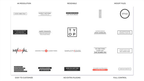 Typo Motion Graphics Template