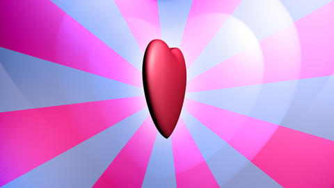 Heart background seamless loop Animation