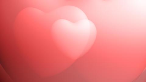 Heart background seamless loop Stock Video Footage