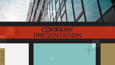 Company Presentation CC After Effects Template