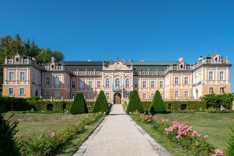 Chateau Nove Hrady. Chateau complex Photo