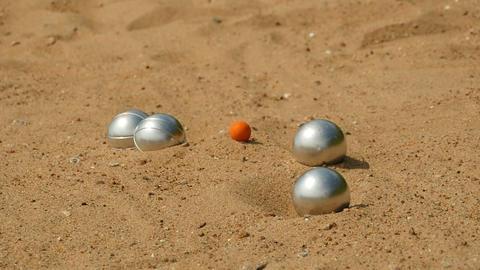 game petanque steel balls Archivo