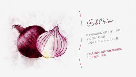 Useful properties of Red Onion Animation