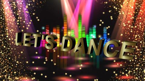 DISCO DJ STAGE Animation