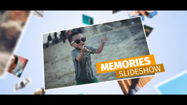 Memories Plantilla de After Effects