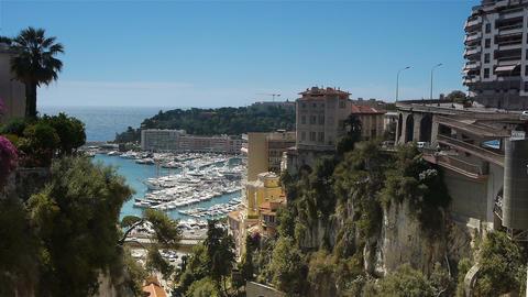 Bay of Monaco, Cote D'Azur France Live Action