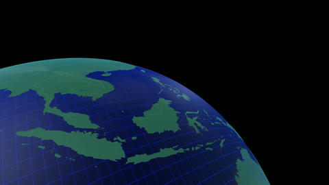 Earth CG 18 B3 4k CG動画