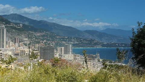 Monaco at Cote D'Azur France Live Action