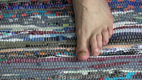 healing foot nails fungus infection Footage