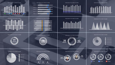 Infographics Pack 애프터 이펙트 템플릿