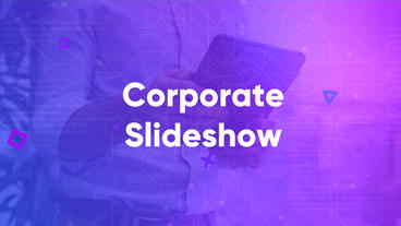 Corporate Slideshow Premiere Pro Template