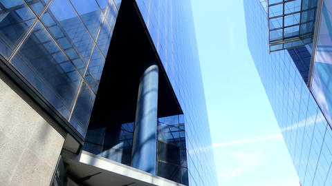 Glass Office Buildings Highrise Footage