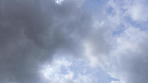 Storm Clouds Gather In Real Time GIF