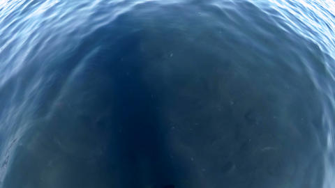 View from the above on calm sea water surface Footage