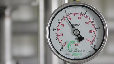 Pressure gauge Footage