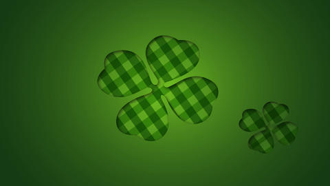 Green Pattern Flower Video Animation Motion Graphics Background Loop HD Animation