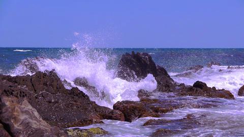 The Mediterranean coast, france Live Action
