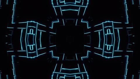 Kaleida Glitchy Neon - 01 Animation