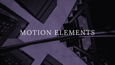 Soft Titles and Text Motion Graphics Template