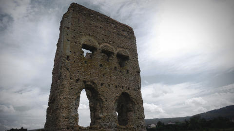 Timelapse of the ancient Roman Temple of Janus Archivo
