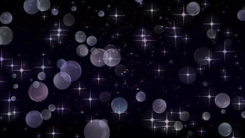 Rising sphere background material CG Glitter Abstract Animation