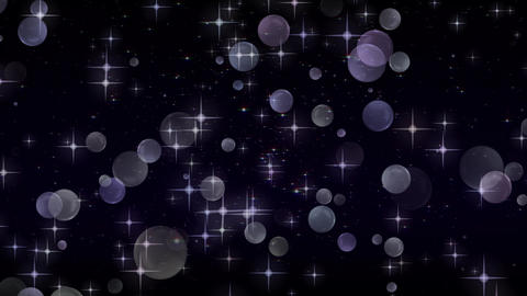 Rising sphere background material CG Glitter Abstract Stock Video Footage
