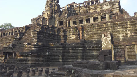 The temples in Angkor Wat, Siem Reap, Cambodia Footage
