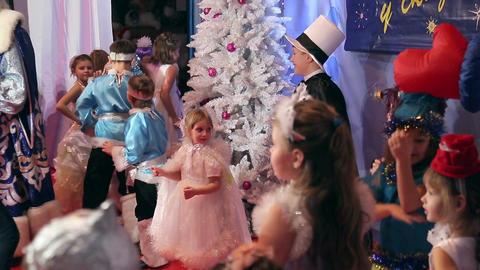 New Year's children's costume contest, animators Live Action