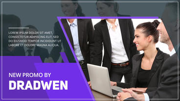 Corporate Promo After Effects Template