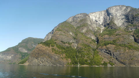 Beautiful Mountains and Rivers of the Norway Fjords Live Action