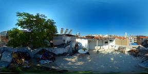 Rooftop Low View Izmir Turkey - 360 VR Fotografía
