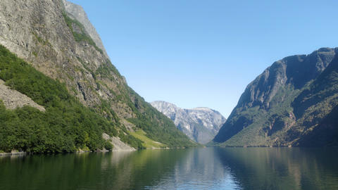 Gorgeous Fjords in Northern Norway Live Action