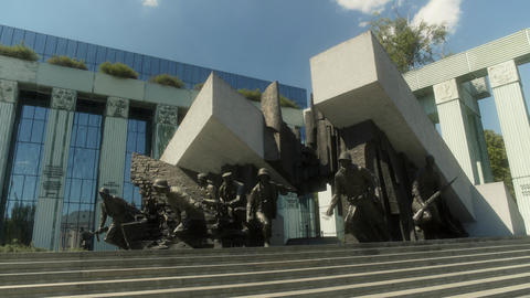 The Warsaw Uprising Monument Live Action