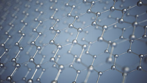 Seamlessly loopable animation of the graphene structure Animation
