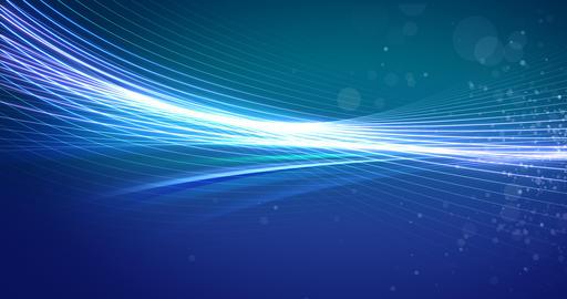 Soft Turquoise and Blue Background Animation