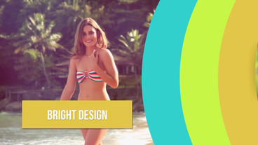 Summer Slideshow Plantilla de After Effects
