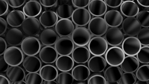 Background of Pipes CG動画素材