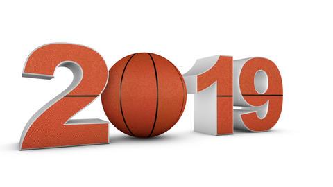 Basketball and 2019 1 Animation