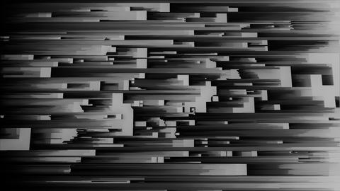 4K Abstract Glitch LED Background Footage