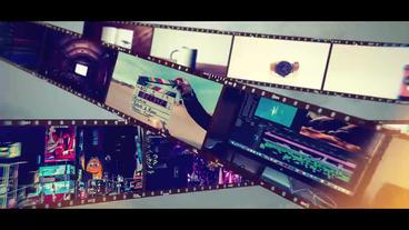 FilmSlideShow 애프터 이펙트 템플릿