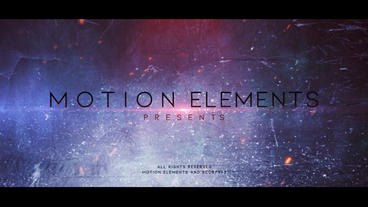 Cinematic promo Plantilla de After Effects