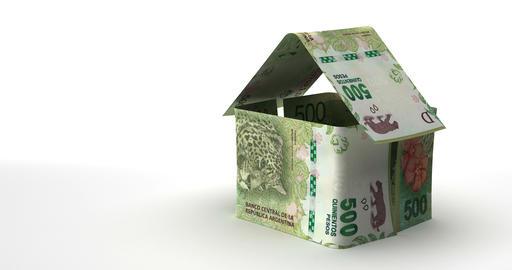 Real Estate Argentinian Pesos Animation