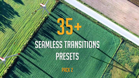 35+Seamless Transitions Presets (Pack 2) Premiere Pro Template