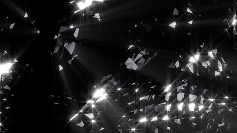Black diamond loopable background Live Action