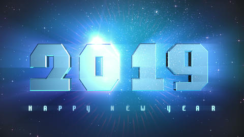 New Year 2019 Countdown Animation Animation