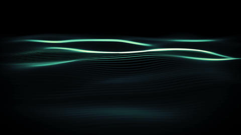Futuristic digital waves. Abstract liquid energy stream background for business Animation