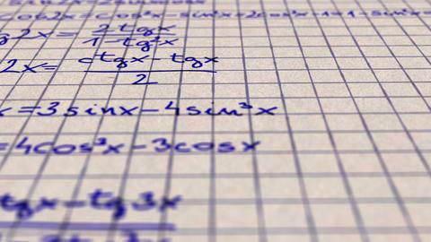 Science Mathematics 2 Stock Video Footage