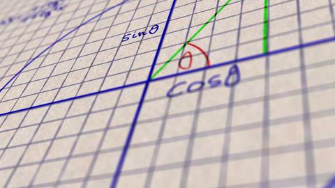 Science Mathematics 6 Stock Video Footage